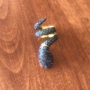 BCBG Snake ring Size 6